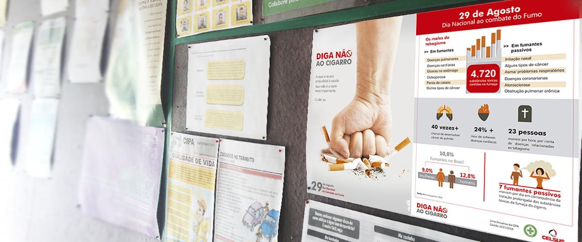 Dia Nacional ao Combate do Fumo