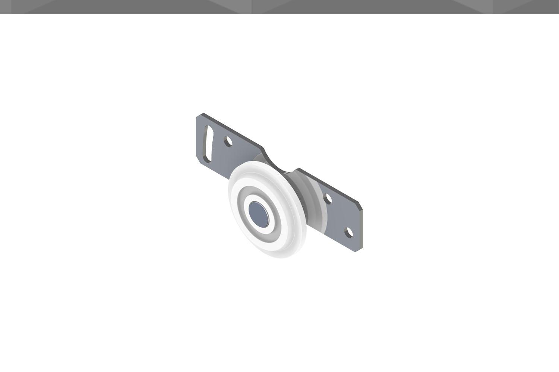 ROLDANA RM 1/2 CHAPA REPUXADA 33,5mm | CM 129