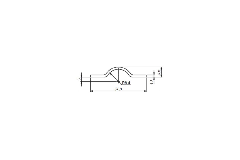 Desenho Técnico Castanha Estampada